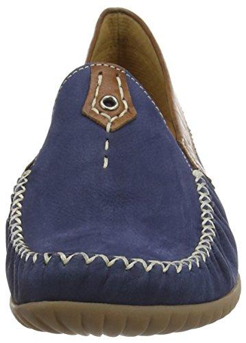 GaborCalifornia - Mocassini donna Blu (Blue (Navy Blue Nubuck/Brown Leather))