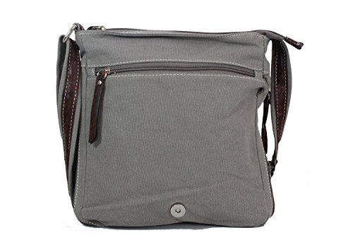 LILOSAC, Borsa a tracolla donna grigio Gris Patchy Gris Patchy