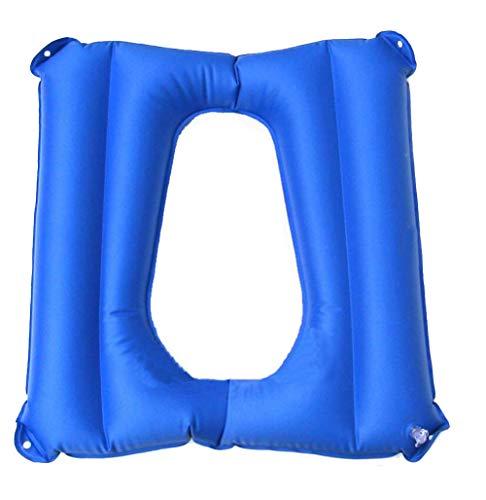 Aufblasbares WC-Sitzkissen WC-Kissen & Rollstuhl Anti-Dekubitus-Kissen für ältere Patienten,pvc