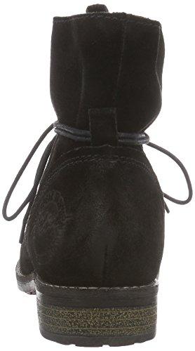 s.Oliver - 25203, Stivali chukka Donna Nero (Nero (Black 001))