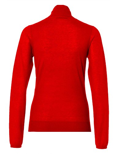 STRENESSE Femmes Pull-over 100 % cachemire Collection d'hiver Rouge