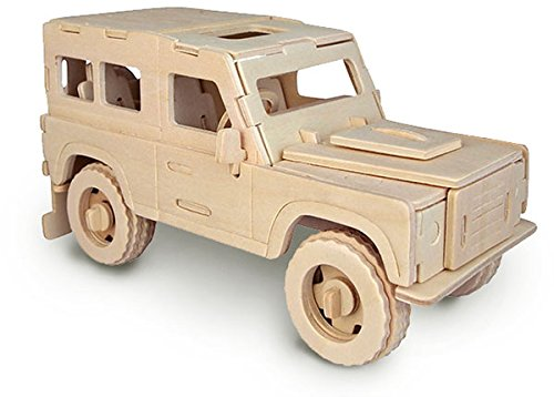 Land Rover - QUAY Woodcraft Construction Kit FSC