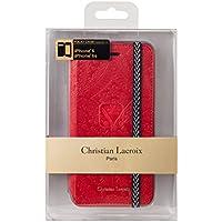Etui Folio Paseo de Christian Lacroix rouge pour iPhone6/6S
