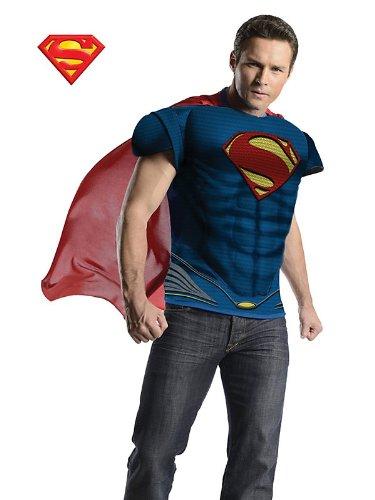 of Steel deluxe Männer Kit (Superman Man Of Steel Kostüm)
