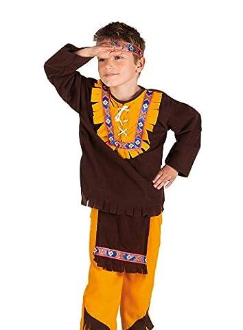 Western Indian Chief Girls Fancy Dress Wild West Cowboys and Indians Kids Costume (Indian Chief Kostüm Zubehör)