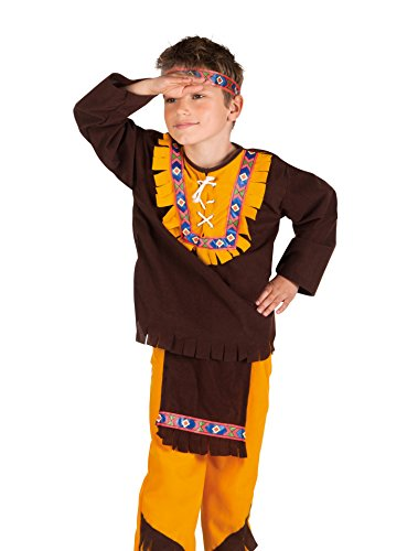 Western Indian Chief Girls Fancy Dress Wild West Cowboys and Indians Kids (Kostüme Kinder Girl Indian)