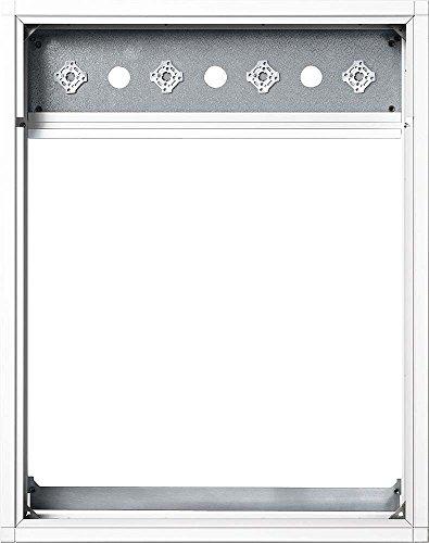 Preisvergleich Produktbild Siedle Kombirahmen Adapter Aluminium, TL-BKGU 514 -0-611, KR 614-1/1, weiß, 5011649