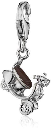 s.Oliver Damen-Charm 925 Sterling Silber Vespa Länge ca. 12 mm 441414