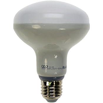 LYO 10048 - Bombilla reflectora LED, R90, 15 W, E27, 1300 lm, 120º, luz cálida