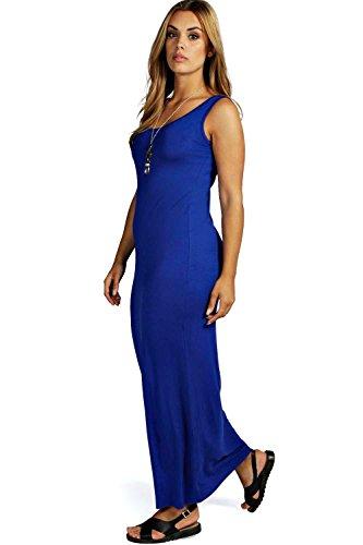 Cobalt Femmes Plus Rosie Robe Maxi À Encolure Dégagée Cobalt