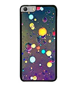 Light and Bubbles 2D Hard Polycarbonate Designer Back Case Cover for Micromax Canvas Knight 2 E471