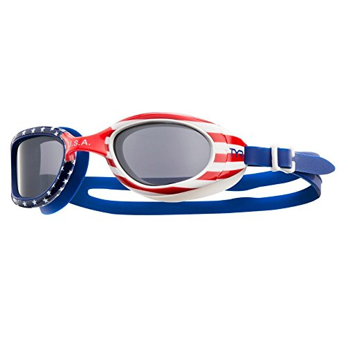 TYR Special Ops 2.0Dunkelblau USA Brille Rot/Navy