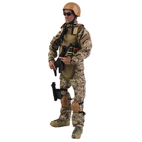 r Set Armee Kampf-Wüste-ACU-Soldat für Kinder Lernspielzeug Idea als Haus Tisch Zimmer Dekoration Geschenk (Kinder Costomes)