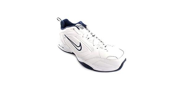 Nike Air Monarch III, Scarpe da corsa uomo Bianco WhiteBlue