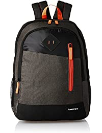 Gear 28 Ltrs Grey and Orange Casual Backpack (BKPDUAL000406)