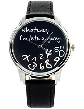 """""""Whatever, I 'm late anyway"""" Pri"""