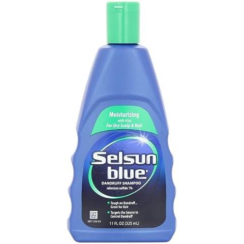 Selsun Blue Dandruff Shampoo Moisturizing Treatment - champues (Mujeres, Champú, Hidratante)