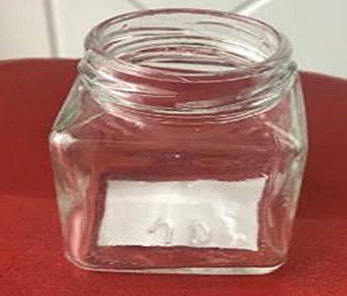 Glas ist klar mit Kork lids- 12Stück kleine Transparent kariert Einmachgläser mit Pfropfen für Vintage Hochzeit Dekoration, DIY, Home und kleine Geschenke, 100ml
