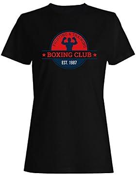 Boxeo Box Hombre Vs Club camiseta de las mujeres m684f