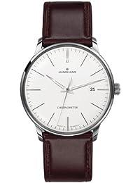 Junghans Herren-Armbanduhr XL Meister Chronometer Analog Automatik Leder 027/4130.00
