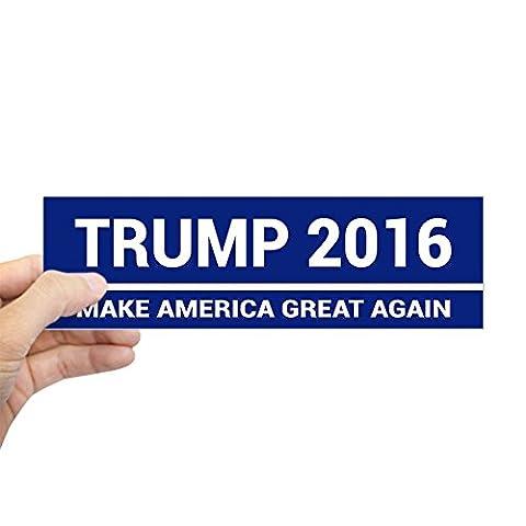 CafePress - Trump 2016 Make America Great Again Bumper Sticker - 10