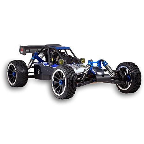 RC Auto kaufen Buggy Bild 2: Redcat Racing Rampage DuneRunner V3 4x4 Gas Buggy (1/5 Skala), Blau/Schwarz*