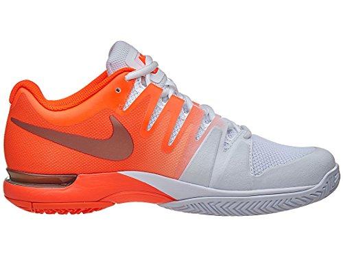 Nike 631475-800, Sneakers basses femme Orange