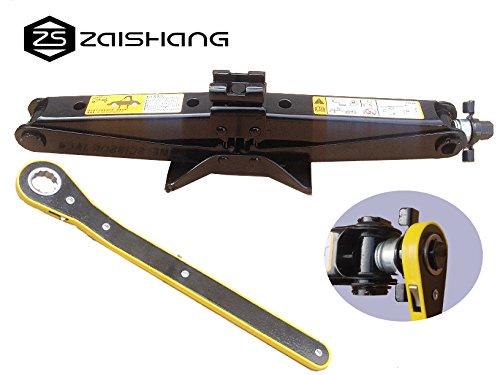 ZS ZAISHANG - 11-45CM 2T Ratschenschlüssel mit Schwinghebel Steckschlüssel ,Scissor Jack
