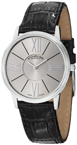 41FzxkV78xL - Stuhrling Original Classic Grey Mens 533.02 watch