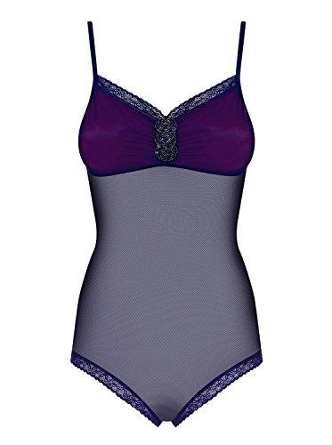 Obsessive Body blau Sexy Spiegelbild Farbe Schmuck Brust/Einstellungen Beinansätzen Größe S/M