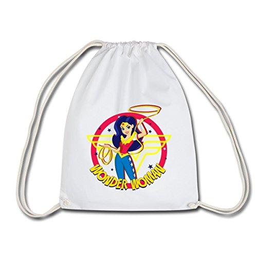 Spreadshirt DC Super Hero Girls Wonder Woman Lasso Magique Sac de sport léger