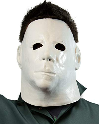 Horror-Shop Michael Myers Gesichtsmaske Economy für Halloween