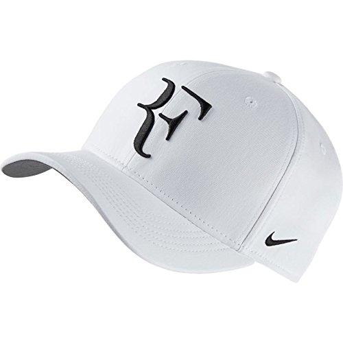Nike Gorras (Nike Roger Federer U Nk Arobill Clc99 - Schirmmütze für Herren, Farbe Weiß, Universalgröße)