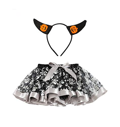 HEVÜY Petticoats Minirock Kurz Unterrock Tutu Unregelmäßig Tüll Damen Mädchen Ballettrock - Giraffe Tutu Kostüm