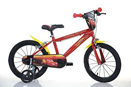 16 Zoll CARS Lightning Kinderfahrrad Kinderrad Spielrad Fahrrad Rad Bike DINO-Bike