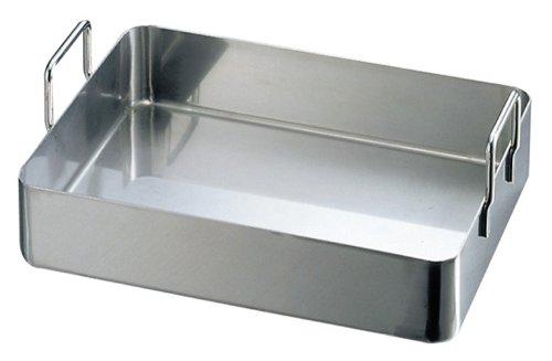 DE BUYER -3121.40 -plat a rotir inox rectang.a anses 40x30