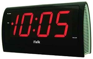 iTalk reconnaissance vocale horloge Parlante