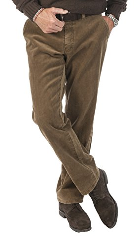 Michaelax-Fashion-Trade Club of Comfort - Herren Stretchcord Hose, Derry (5810), Größe:52, Farbe:Beige (32) Herren Cord Hose