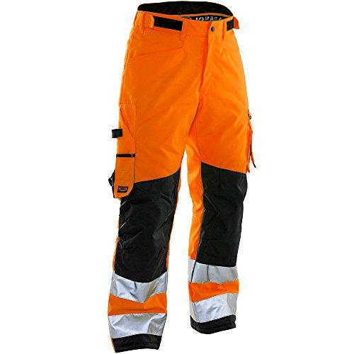 Jobman Winter Handwerker-Hose, 1 Stück, D88, orange/schwarz, 223607-3199-D088