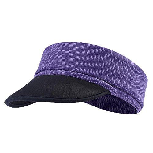 Outdoor Herren und Damen Feuchtigkeitstransport Sport Athletic Turban Kopf Wrap Hat Stirnband für...