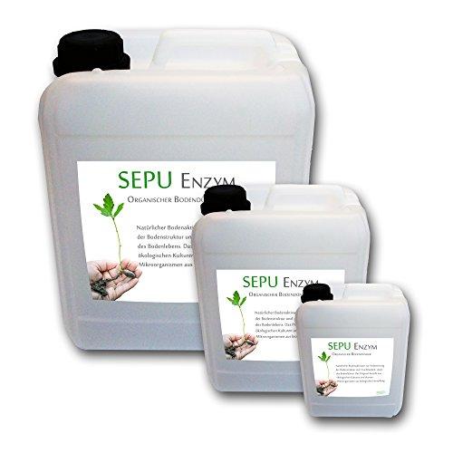 5L Sepu Enzym Effektive Mikroorganismen EM Bodenaktivator organischer pflanzlicher Dünger Bodendünger lebende Enzyme 5 Liter