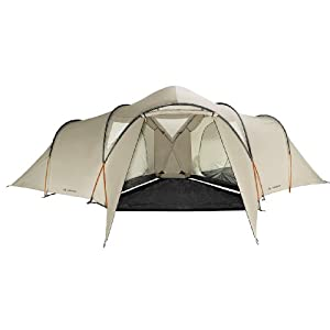 vaude badawi long tent - 6 person, beige