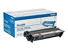 Brother TN3330 Toner Originale fino a 3000 Pagine, per Stampanti Serie 5000, 6000 e 8000, Colore Nero