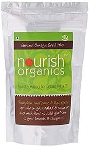 Nourish Organics Ground Omega Seed Mix, 200g