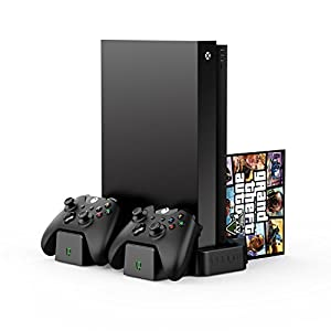 Venom Xbox One Vertical Charging Stand with 2 x Rechargeable Battery Packs: Black (Xbox One)