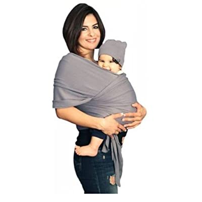 YogaBellies® Baby Sling Wrap UK Made Safety Certified | Super Soft 100% Organic Cotton Baby Wrap | Baby Carrier Newborn and Infants | Free Hat, Bag and EBook | Lifetime Guarantee | Ideal Gift  BABYBJÖRN
