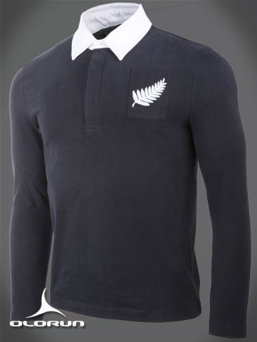 Klassische Vintage New Zealand Rugby Shirt Authentic Olurun Größe 3XL 116.84 cm