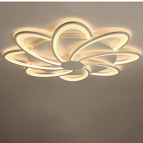 Plafón LED Acrílico Con Control Remoto, Brillo Ajustable/Color Ajustable, Adecuado Para La...