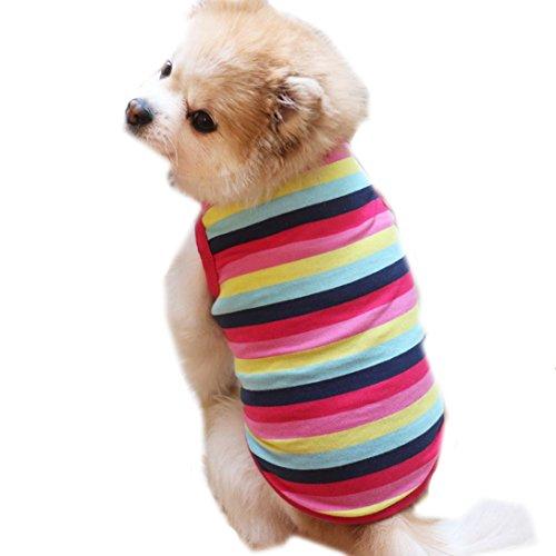 ropa perro, Sannysis gatos accesorios Ropa de abrigo perro camiseta de algodón...