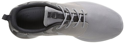 Nike Roshe One Print, chaussures de course homme Gris (Wolf Grey/Wolf Grey-Dark Grey)